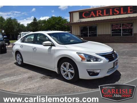 2014 Nissan Altima for sale at Carlisle Motors in Lubbock TX