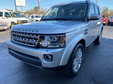 2014 Land Rover LR4 for sale at Viewmont Auto Sales in Hickory NC