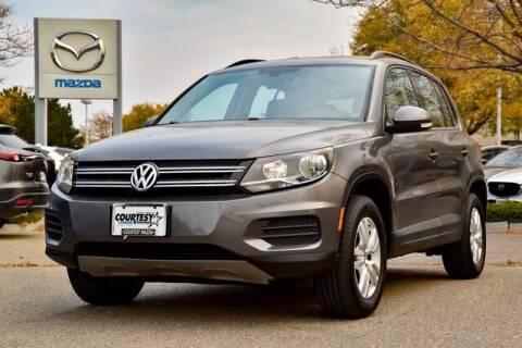 2016 Volkswagen Tiguan for sale at COURTESY MAZDA in Longmont CO