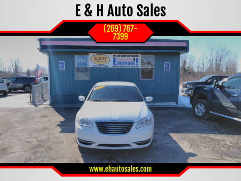 2014 Chrysler 200 for sale at E & H Auto Sales in South Haven MI