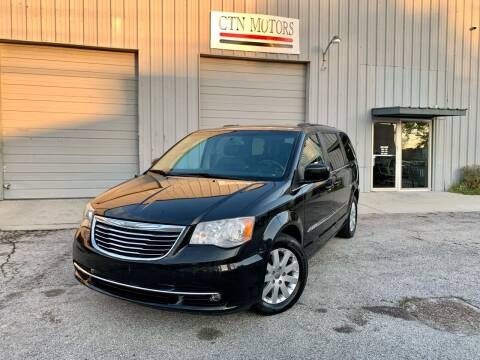 2013 Chrysler Town and Country for sale at CTN MOTORS in Houston TX