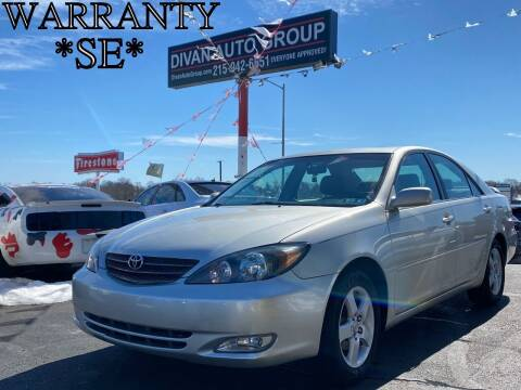 2004 Toyota Camry for sale at Divan Auto Group in Feasterville PA