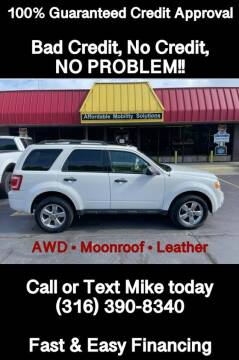 2012 Ford Escape for sale at Affordable Mobility Solutions, LLC - Standard Vehicles in Wichita KS