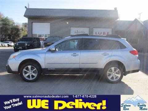 2013 Subaru Outback for sale at QUALITY MOTORS in Salmon ID