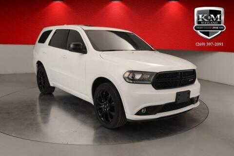 2019 Dodge Durango for sale at K&M Wayland Chrysler  Dodge Jeep Ram in Wayland MI