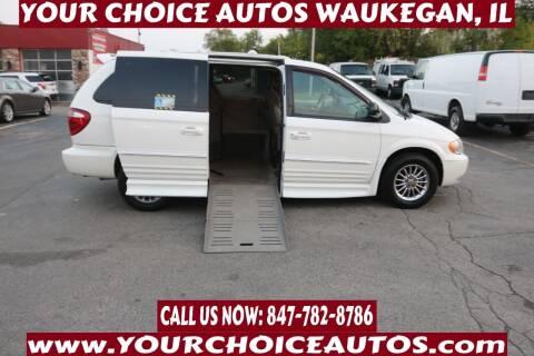 2002 Chrysler Town and Country for sale at Your Choice Autos - Waukegan in Waukegan IL