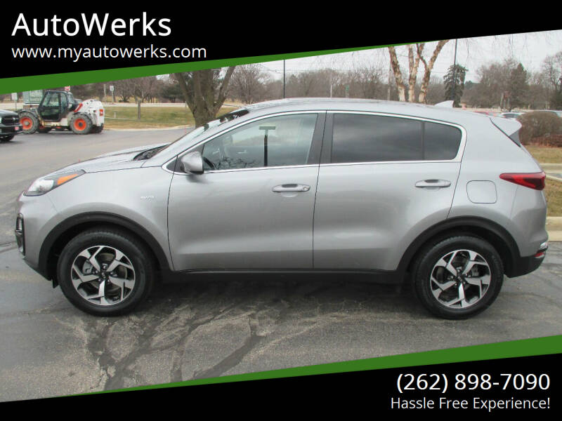 2020 Kia Sportage for sale at AutoWerks in Sturtevant WI