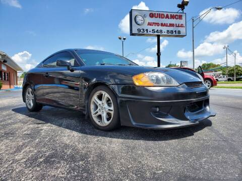 2006 Hyundai Tiburon for sale at Guidance Auto Sales LLC in Columbia TN
