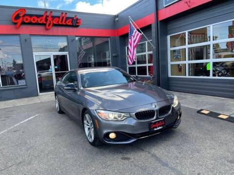 2014 BMW 4 Series for sale at Goodfella's  Motor Company in Tacoma WA