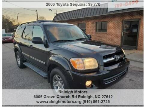 2006 Toyota Sequoia for sale at Raleigh Motors in Raleigh NC