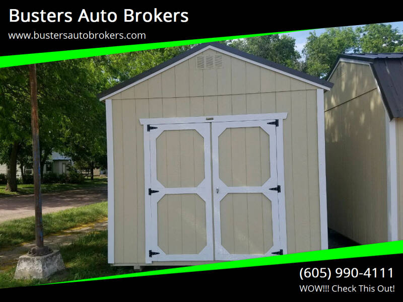 2021 Old Hickory Building 10 X 16 Utility Building W/8ft for sale at Busters Auto Brokers in Mitchell SD