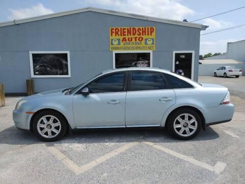 2009 Mercury Sable for sale at Friendship Auto Sales in Broken Arrow OK
