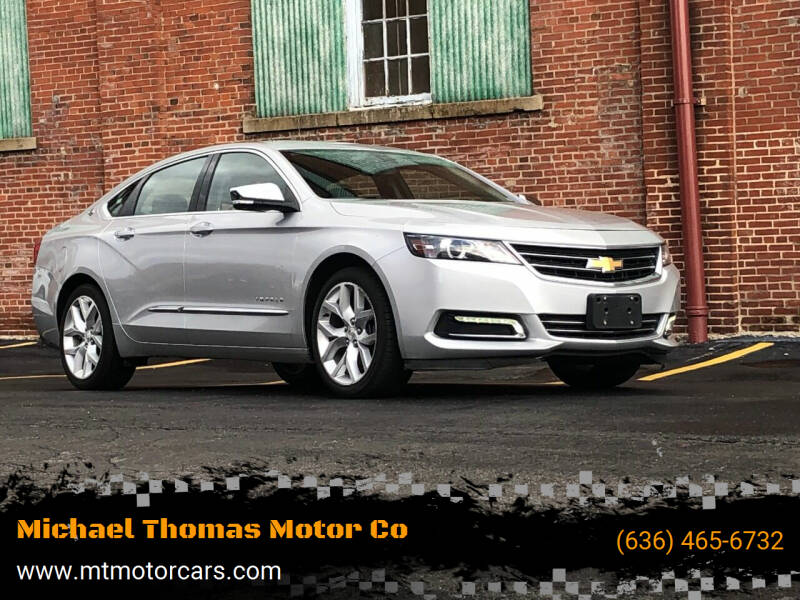 2018 Chevrolet Impala for sale at Michael Thomas Motor Co in Saint Charles MO