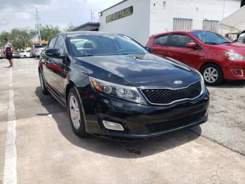 2014 Kia Optima for sale at Mike Auto Sales in West Palm Beach FL