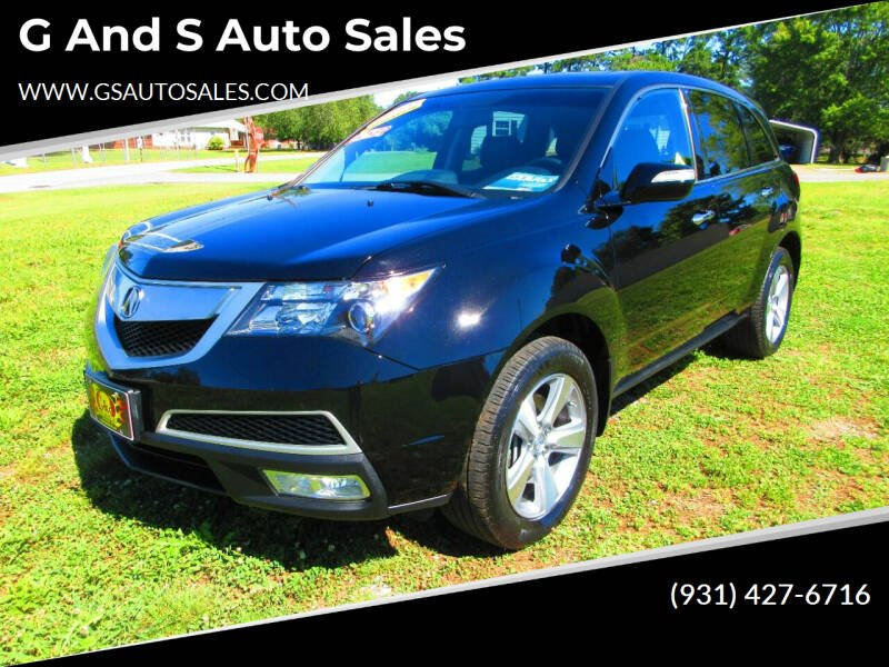2013 Acura MDX for sale at G and S Auto Sales in Ardmore TN