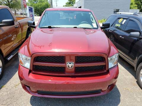 2012 RAM Ram Pickup 1500 for sale at Shelton & Son Auto Sales L.L.C in Dover AR