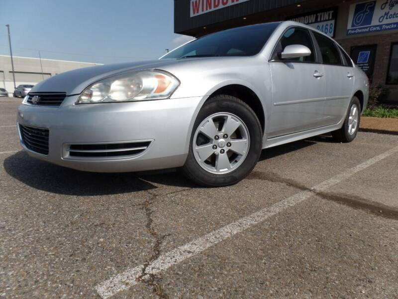 2011 Chevrolet Impala for sale at Flywheel Motors, llc. in Olive Branch MS