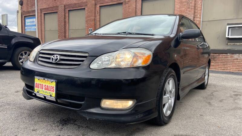 2004 Toyota Corolla for sale at Rocky's Auto Sales in Worcester MA
