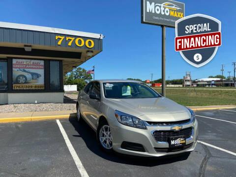 2014 Chevrolet Malibu for sale at MotoMaxx in Spring Lake Park MN