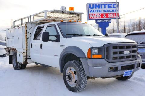 2005 Ford F-550 Super Duty for sale at United Auto Sales in Anchorage AK