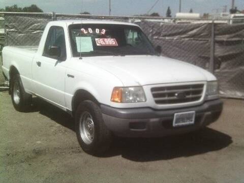 2003 Ford Ranger for sale at Valley Auto Sales & Advanced Equipment in Stockton CA