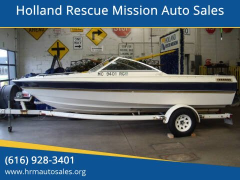 1996 Bayliner Capri 1950 for sale at Holland Rescue Mission Auto Sales in Holland MI