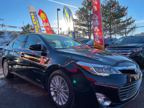 2013 Toyota Avalon Hybrid for sale at Duke City Auto LLC in Gallup NM