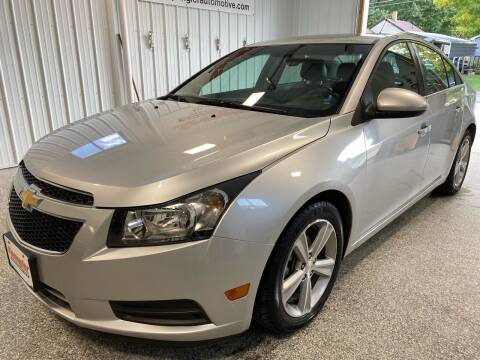 2014 Chevrolet Cruze for sale at SPANGLER AUTOMOTIVE WC LLC in Webster City IA