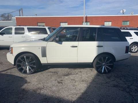 2006 Land Rover Range Rover for sale at A & R Motors in Richmond VA