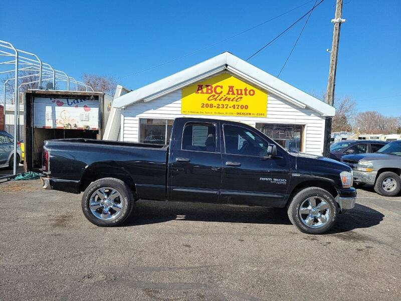 2006 Dodge Ram Pickup 1500 for sale at ABC AUTO CLINIC - Chubbuck in Chubbuck ID