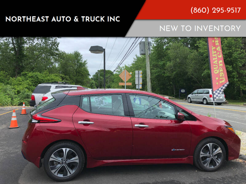 2018 Nissan LEAF for sale at Northeast Auto & Truck Inc in Marlborough CT