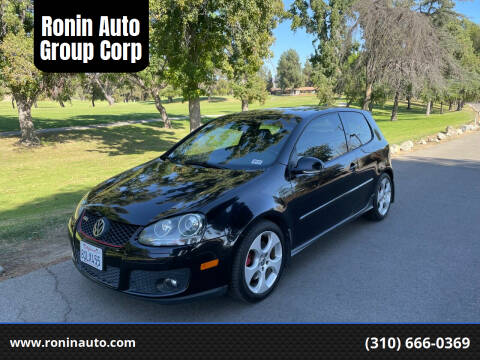 2008 Volkswagen GTI for sale at Ronin Auto Group Corp in Sun Valley CA