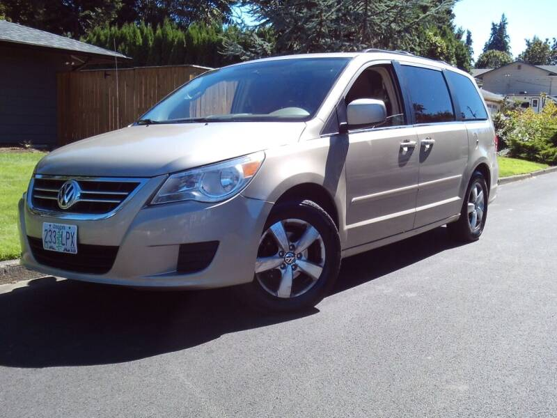 2009 Volkswagen Routan for sale at Redline Auto Sales in Vancouver WA