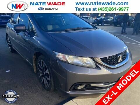 2014 Honda Civic for sale at NATE WADE SUBARU in Salt Lake City UT