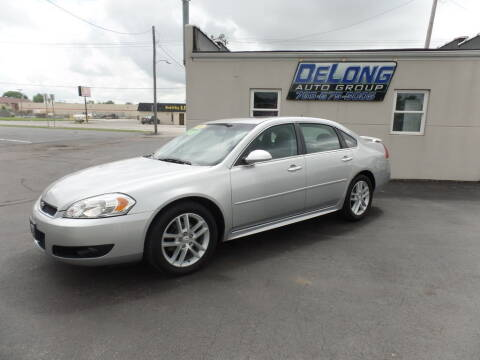 2013 Chevrolet Impala for sale at DeLong Auto Group in Tipton IN