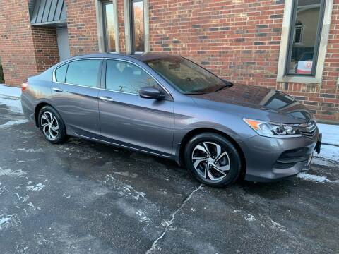 2016 Honda Accord for sale at Riverview Auto Brokers in Des Plaines IL