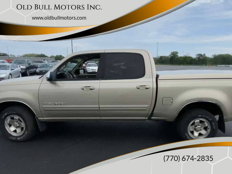 2004 Toyota Tundra for sale at Old Bull Motors Inc. in Snellville GA