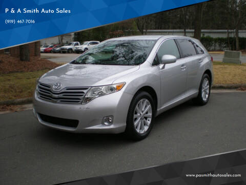 2011 Toyota Venza for sale at P & A Smith Auto Sales in Cary NC
