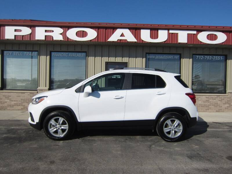 2020 Chevrolet Trax for sale at Pro Auto Sales in Carroll IA
