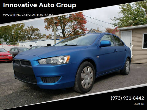 2008 Mitsubishi Lancer for sale at Innovative Auto Group in Hasbrouck Heights NJ