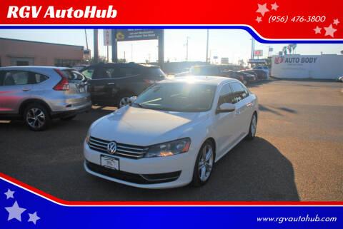 2014 Volkswagen Passat for sale at RGV AutoHub in Harlingen TX