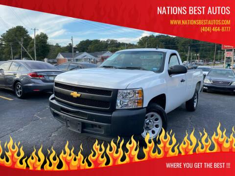 2012 Chevrolet Silverado 1500 for sale at Nations Best Autos in Decatur GA