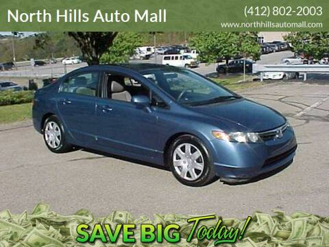 2008 Honda Civic for sale at North Hills Auto Mall in Pittsburgh PA