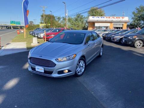 2015 Ford Fusion for sale at CARMART Of New Castle in New Castle DE