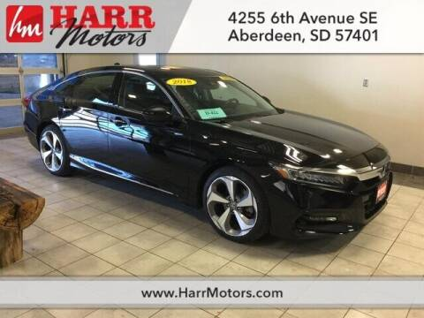 2018 Honda Accord for sale at Harr Motors Bargain Center in Aberdeen SD