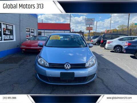 2010 Volkswagen Golf for sale at Global Motors 313 in Detroit MI