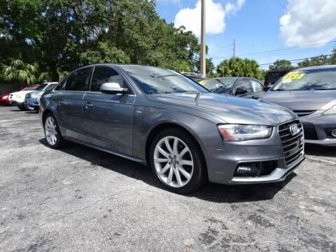 2014 Audi A4 for sale at DONNY MILLS AUTO SALES in Largo FL
