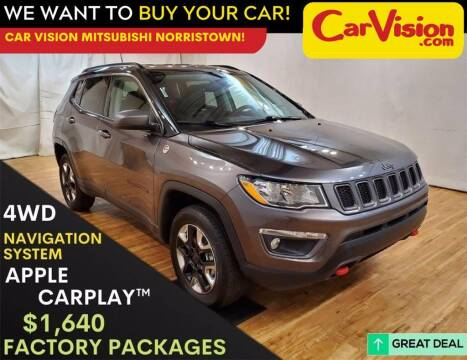 2018 Jeep Compass for sale at Car Vision Mitsubishi Norristown in Trooper PA