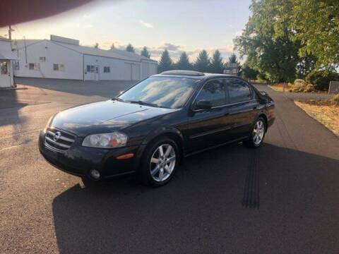 2002 Nissan Maxima for sale at McMinnville Auto Sales LLC in Mcminnville OR