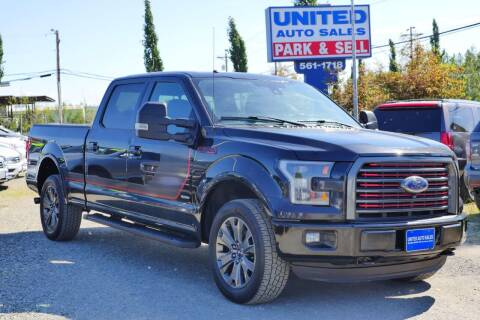 2016 Ford F-150 for sale at United Auto Sales in Anchorage AK